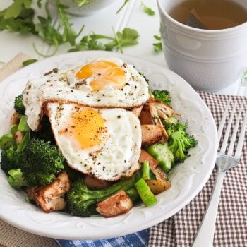 Turkey, Apple and Broccoli Breakfast Hash