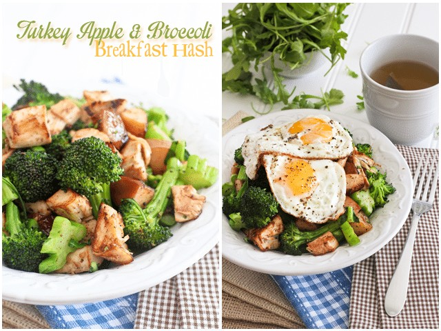 Turkey Apple Breakfast Hash | by Sonia! The Healthy Foodie