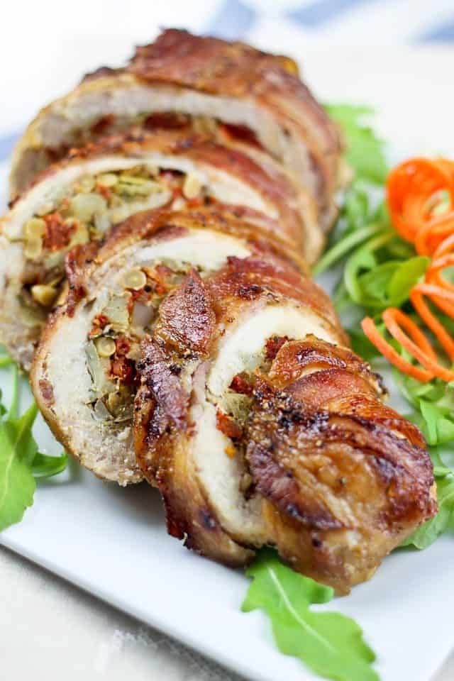 Bacon Wrapped Chicken Breasts | by Sonia! The Healthy Foodie