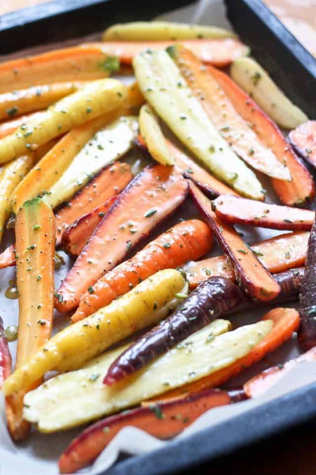 Honey Mustard Glazed Carrots | by Sonia! The Healthy Foodie
