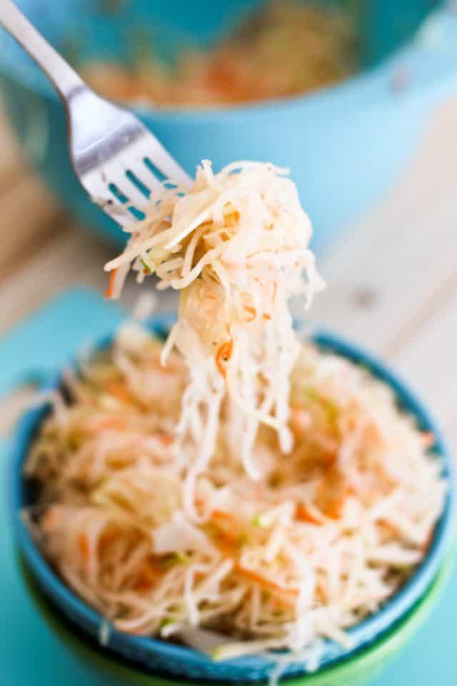 Green Apple Minute Sauerkraut   by Sonia! The Healthy Foodie