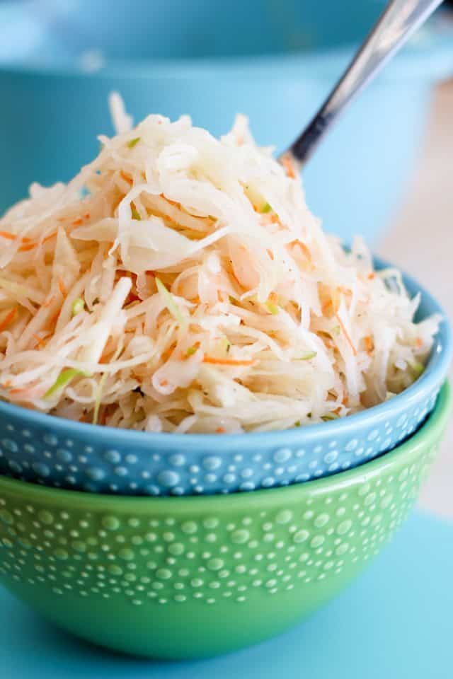 Green Apple Minute Sauerkraut | by Sonia! The Healthy Foodie