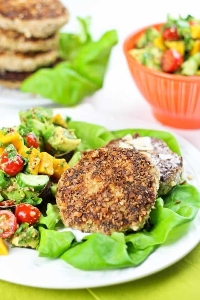 Coconut and Plantain Pork Patties | By Sonia! The Healthy Foodie