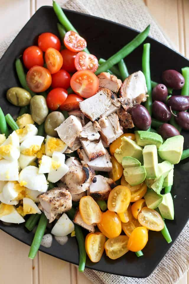 Cobb Style Green Bean Salad | by Sonia! The Healthy Foodie