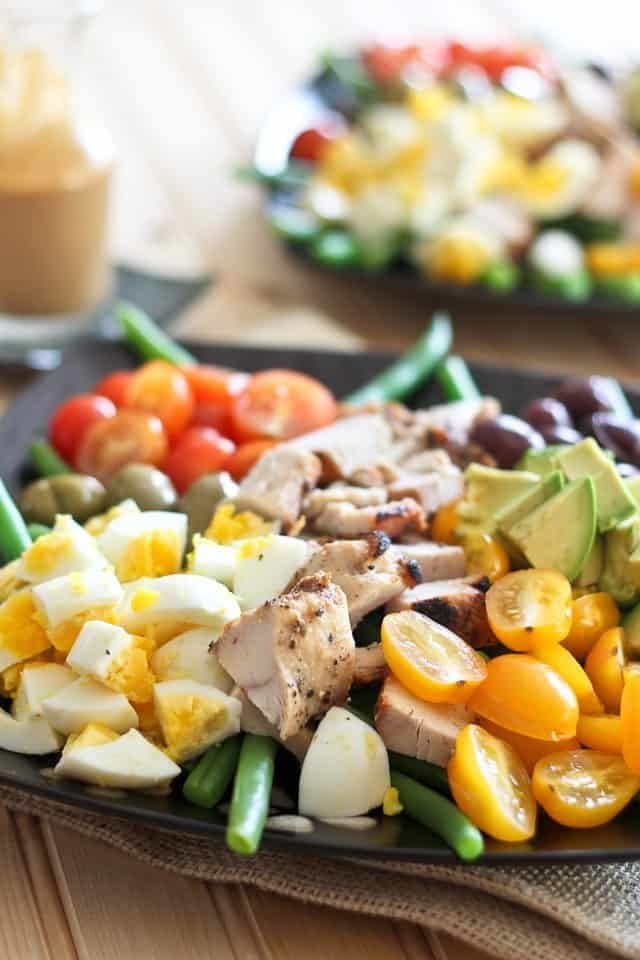 Cobb Style Green Bean Salad   by Sonia! The Healthy Foodie