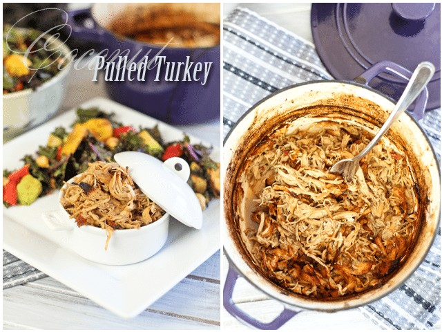 Coconut Pulled Turkey | by Sonia! The Healthy Foodie