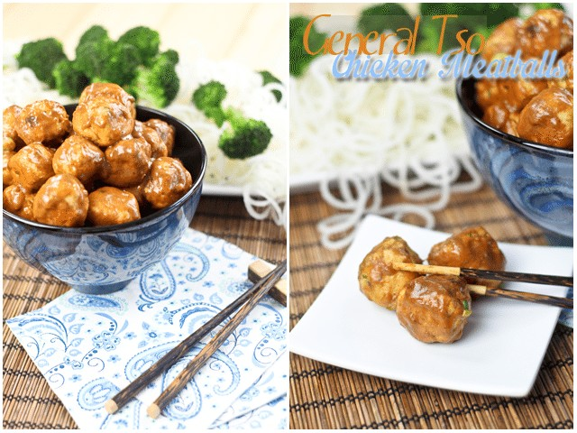 Genaral Tsos Meatballs | by Sonia! The Healthy Foodie