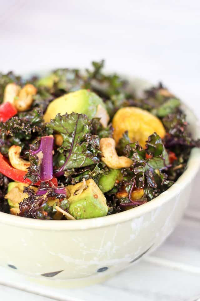 Massaged Kale Salad | by Sonia! The Healthy Foodie