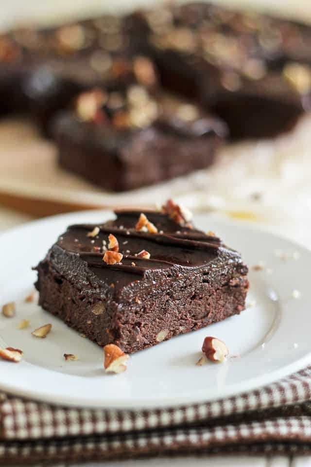 Paleo Sweet Potato Brownies | by Sonia! The Healthy Foodie