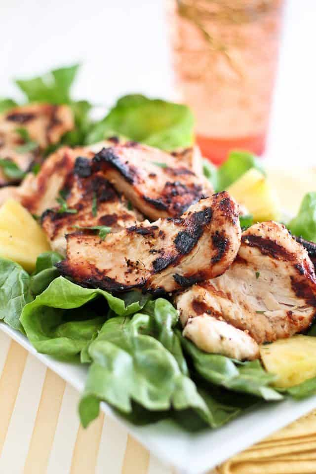 Pineapple Grilled Chicken | by Sonia! The Healthy Foodie