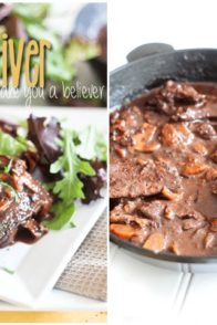 Bacon and Apricot Beef Liver | by Sonia! The Healthy Foodie