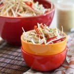 Cashew Bean Sprout Salad | by Sonia! The Healthy Foodie