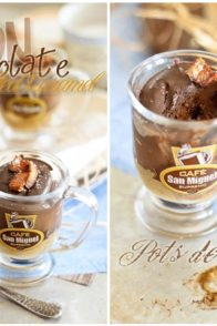 Chocolate Caramel Bacon Pots-de-Creme | by Sonia! The Healthy Foodie