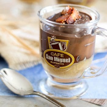 Chocolate Bacon and Salted Caramel Pots-de-Crème