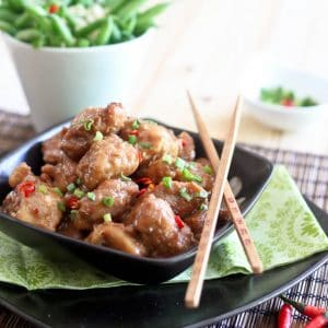 General Tso Chicken Paleo Style   by Sonia! The Healthy Foodie