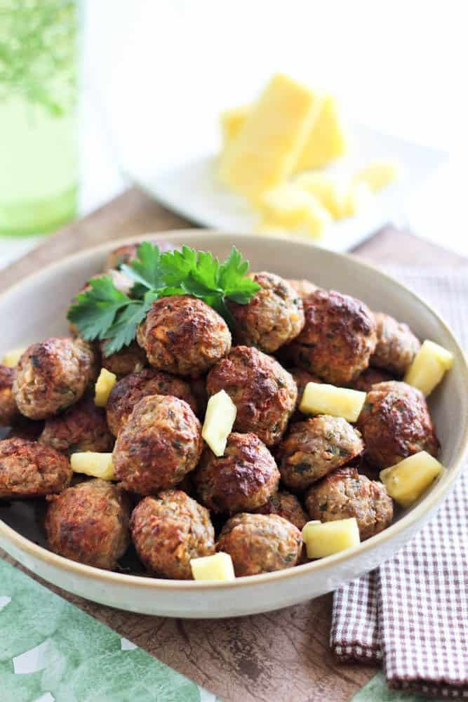 Pineapple Pork Meatballs | by Sonia! The Healthy Foodie