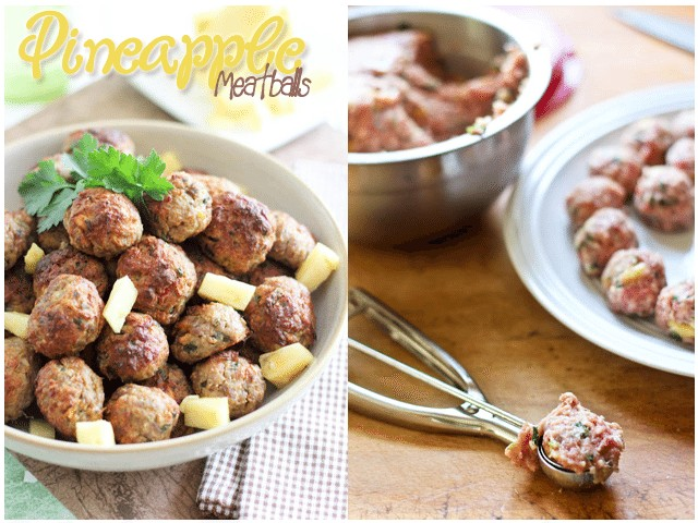 Pineapple Meatballs | by Sonia! The Healthy Foodie