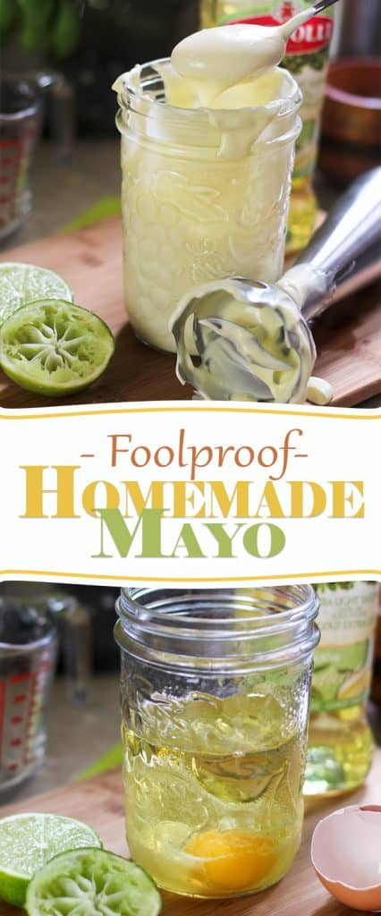 Foolproof Homemade Mayonaise | thehealthyfoodie.com