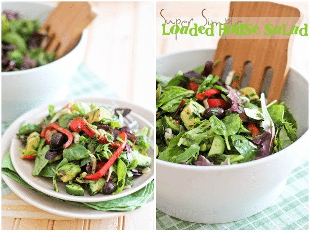 Loaded House Salad | by Sonia! The Healthy Foodie