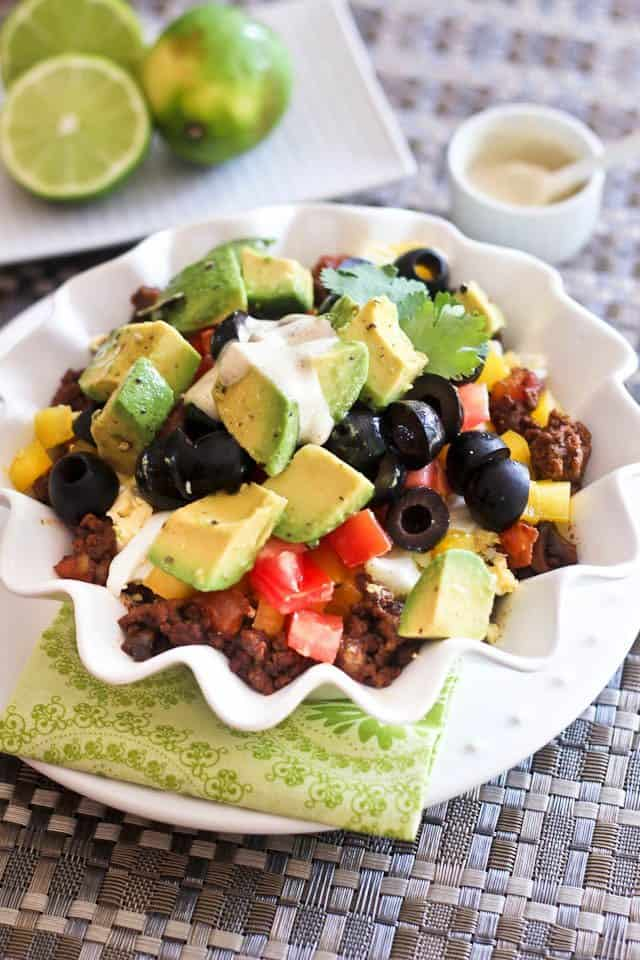 Mexican Breakfast Bowl | by Sonia! The Healthy Foodie