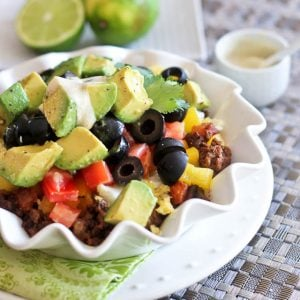 Mexican Breakfast Bowl   by Sonia! The Healthy Foodie