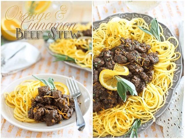 Orange Cinnamon Beef Stew | by Sonia! The Healthy Foodie