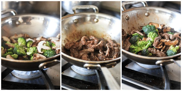Sauteed Beef with Broccoli and Shiitake | by Sonia! The Healthy Foodie