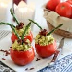 Stuffed Fresh Tomatoes | by Sonia! The Healthy Foodie