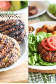 Bunless Burger   by Sonia! The Healthy Foodie