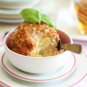 Toasted Coconut Fried Ice Cream | by Sonia! The Healthy Foodie