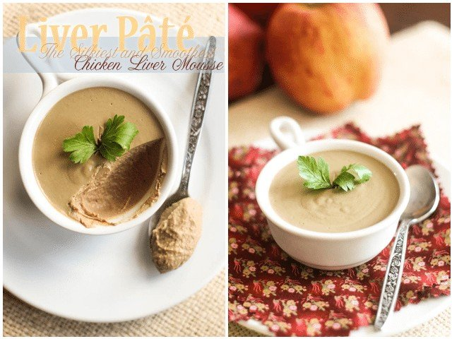 Silky Smooth Liver Pâté | by Sonia! The Healthy Foodie
