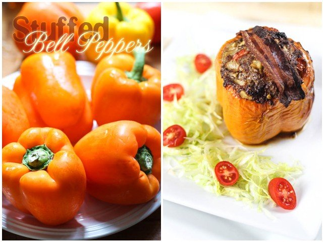 Stuffed Bell Peppers | by Sonia! The Healthy Foodie