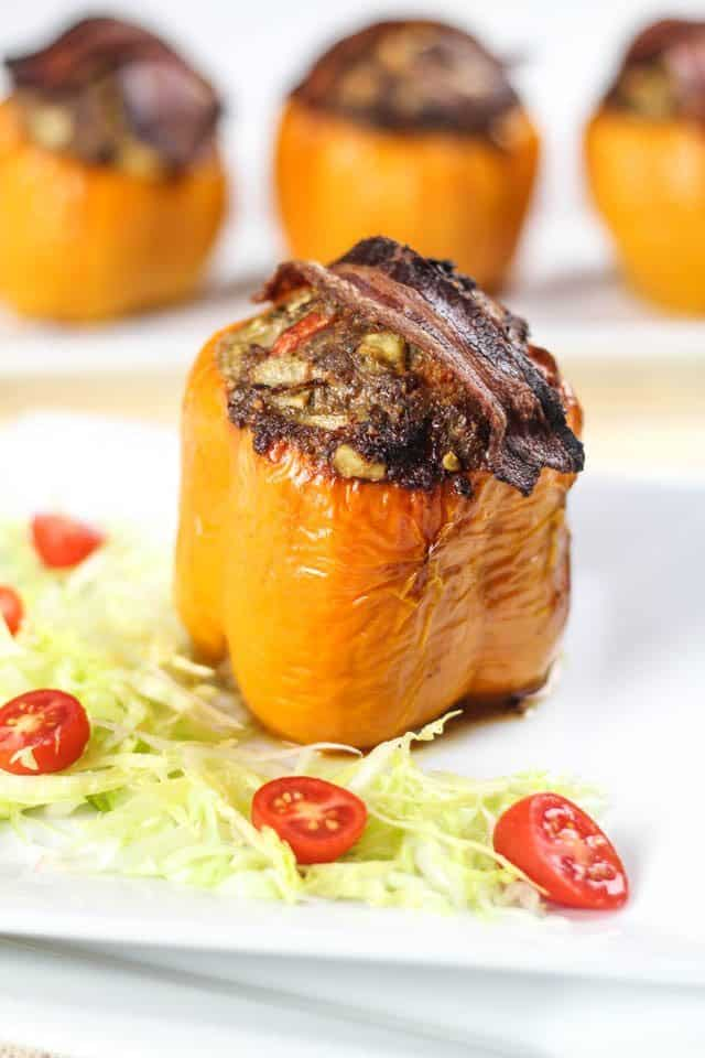 Stuffed Bell Peppers   by Sonia! The Healthy Foodie