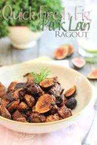 Quick Pork and Fresh Fig Ragout | by Sonia! The Healthy Foodie