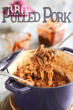 "Made entirely from scratch, even the sauce, this BBQ pulled pork recipe is simply ""throw you off your chair"" delicious. Comfort food to the 10th power!"