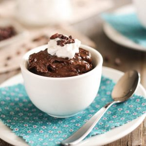 Darker than the Darkest of Secrets Paleo Chocolate Pudding