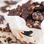 Paleo Dark Chocolate Bark | by Sonia! The Healthy Foodie