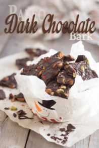 Paleo Dark Chocolate Bark | by Sonia! The Healthy Foodie