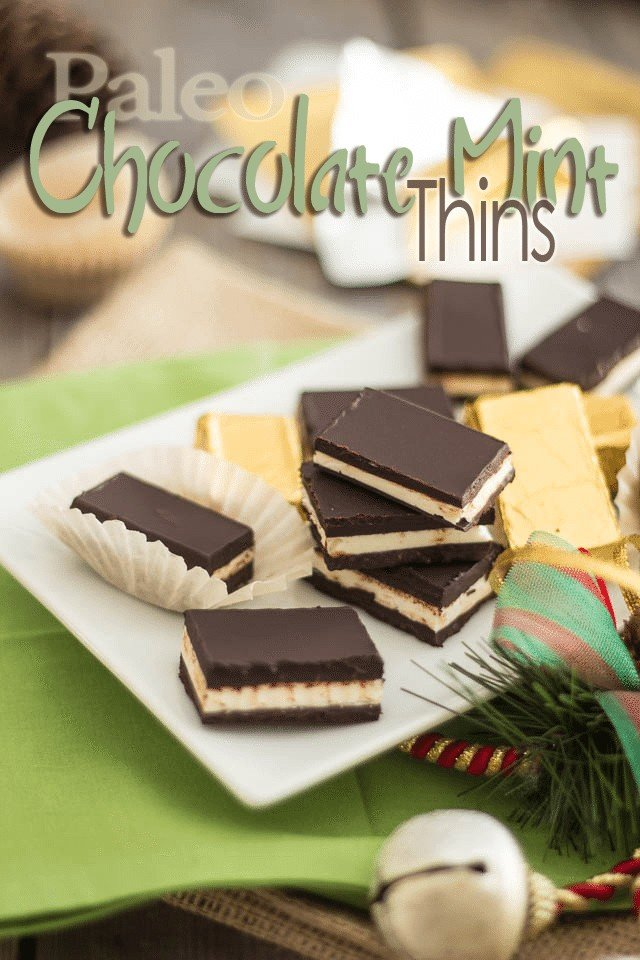 Paleo Dark Chocolate Mint Thins | by Sonia! The Healthy Foodie