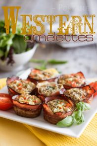 Portable Western Omelettes | by Sonia! The Healthy Foodie