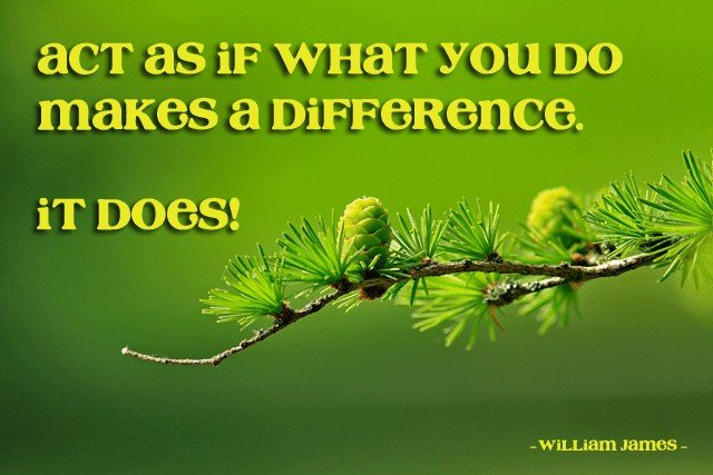 What you do makes a difference | by Sonia! The Healthy Foodie