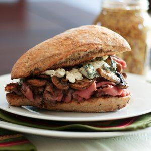 Philly Cheese Steak Sandwich… sort of!