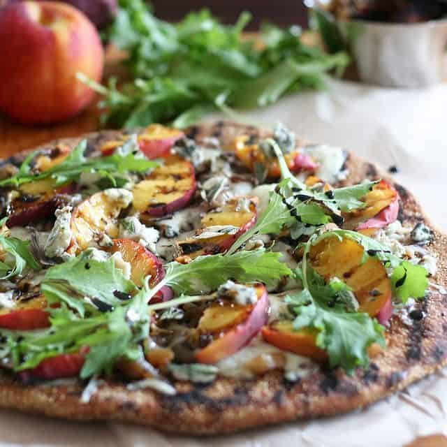 Rustic Grilled Peaches Pizza - or Murphy's Pizza! • The ...