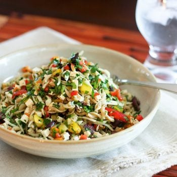 Colorful Bell Pepper Pasta Salad – Take II