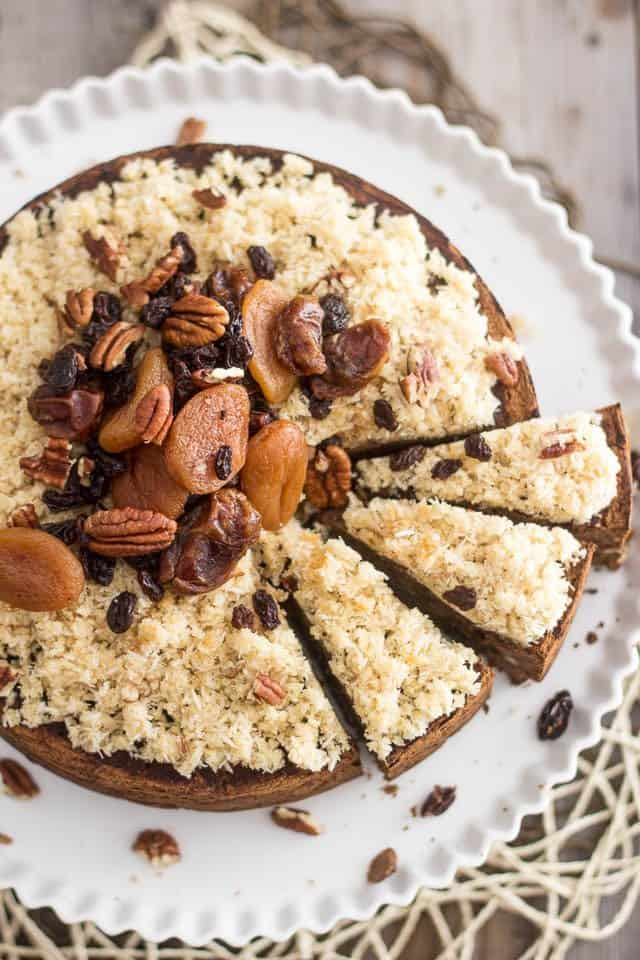 Paleo Chestnut Fruit Cake   by Sonia The Healthy Foodie