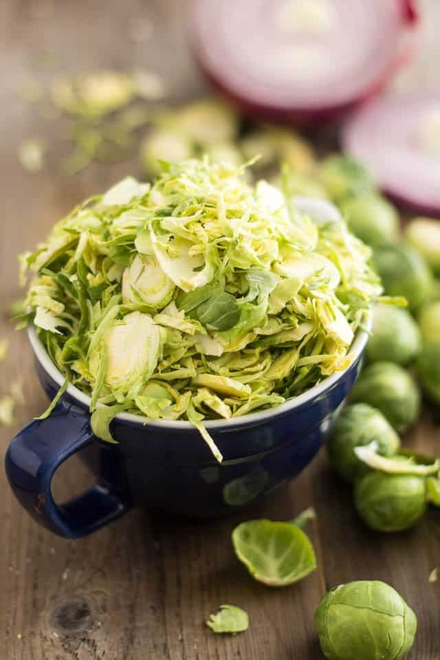 Shaved Brussels Sprouts | by Sonia! The Healthy Foodie