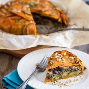 Sweet Potato and Ground Beef Pie