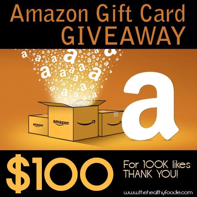 Amazon Giveaway | TheHealthyFoodie.com