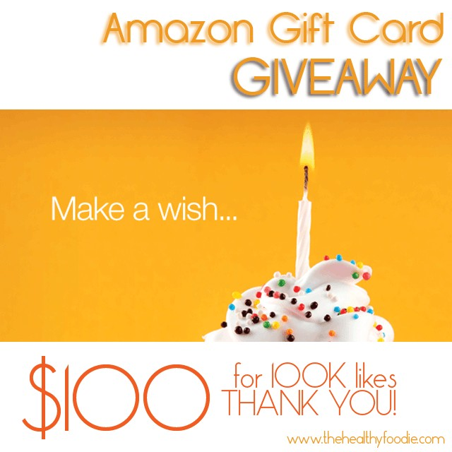 Amazon Giveaway | by Sonia! The Healthy Foodie
