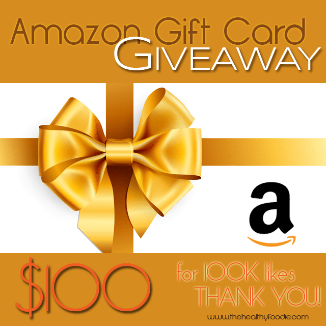 Amazon Giveaway   by Sonia! The Healthy Foodie